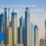 Пополнить кошелек WebMoney теперь можно через терминалы NT.Payments в ОАЭ