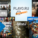 Новогодняя распродажа компьютерных игр в магазине Playo.ru