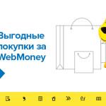 «Евросеть» представляет возможность оплаты покупок через систему WebMoney