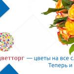Цветы в интернет-магазине «Мосцветторг» за WebMoney
