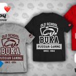 Скидка 10% на футболки в интернет-магазине shop.buka.ru